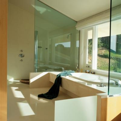 Glass radiant panel AZUR
